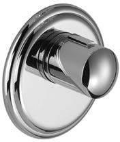 Dornbracht Fertigmontageset Madison für UP-Thermostat xTOOL, 3 Ventile, chrom