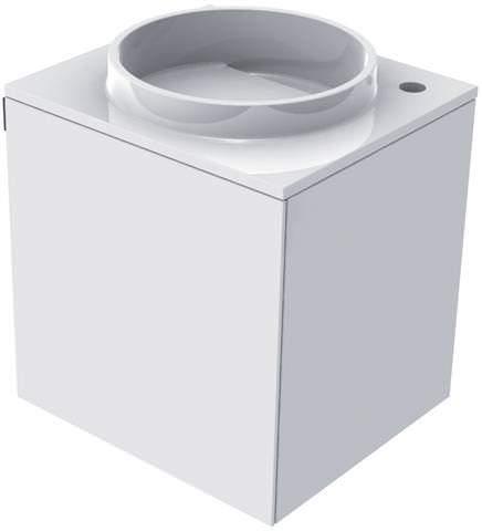 EMCO Mineralguss-Gäste-Waschtisch Asis