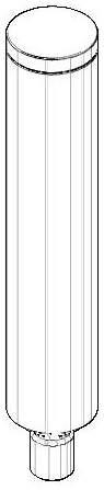 Dornbracht Stange Papierrollenhalter