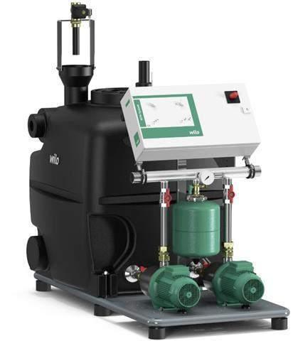 Wilo Regenwasser-Nutzungsanlage AF 400-2 MP
